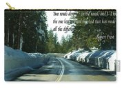 Two Roads Carry-all Pouch