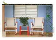 Two Rocking Chairs On The Porch Carry-all Pouch