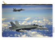 Two Royal Australian Air Force Fa-18 Carry-all Pouch