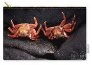 Two Sally Lightfoot Crabs Carry-all Pouch