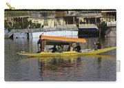 Two Shikaras Next To Each Other In The Dal Lake Carry-all Pouch