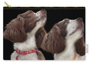 Two Spaniels Carry-all Pouch