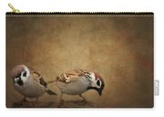 Two Sparrows Carry-all Pouch