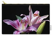 Two Star Lilies Carry-all Pouch