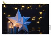 Two Stars In Front Of Dark Background Carry-all Pouch