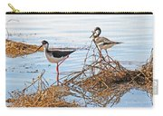 Two Stilts At The Pond Carry-all Pouch