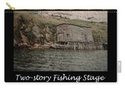 Two-story Fishing Stage Carry-all Pouch