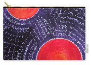 Two Suns Original Painting Carry-all Pouch