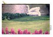 Two Swans Carry-all Pouch by Jasna Buncic