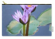 Two Tall Water Lilies Carry-all Pouch