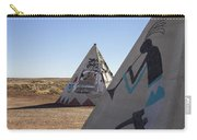 Two Teepees Carry-all Pouch