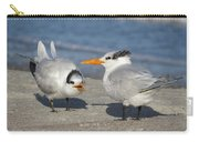 Two Terns Talking Carry-all Pouch