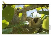 Two-toed Sloth Relaxing With A Grin Carry-all Pouch