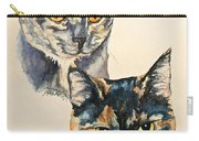 Two Torti's Carry-all Pouch