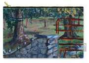 Two Trees And A Gate Carry-all Pouch