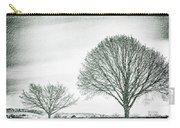 Two Trees In A Field Carry-all Pouch