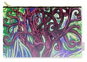 Two Trees Twining Carry-all Pouch