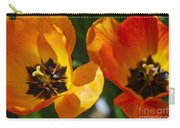 Two Tulips Carry-all Pouch by Elena Elisseeva