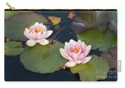 Two Water Lillies Carry-all Pouch