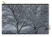 Two Winter Trees Carry-all Pouch