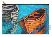 Two Wood Boats Carry-all Pouch by Xueling Zou