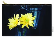 Two Yellow Daisies Carry-all Pouch