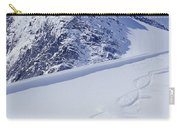 Two Young Men Skiing Untracked Powder Carry-all Pouch