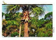 Tybee Palm Carry-all Pouch