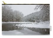 Tyler Park In Winter Carry-all Pouch