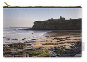 Tynemouth Priory And Castle Across King Edwards Bay Carry-all Pouch