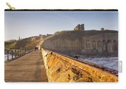 Tynemouth Priory And Castle From North Pier Carry-all Pouch