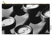 Typewriter Keys, 1921 Carry-all Pouch