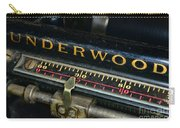 Typewriter Paper Guide Carry-all Pouch