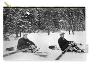 U Of W Crew Stage Toboggan Race Carry-all Pouch