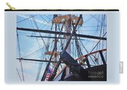 An Aspect Of The U S S Constellation, Baltimore Carry-all Pouch