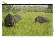 Ugandan Elephants Carry-all Pouch