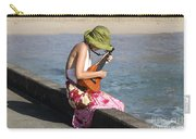 Ukulele Lady At Hanalei Bay Carry-all Pouch