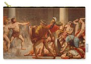 Ulysses Revenge On Penelopes Suitors Carry-all Pouch
