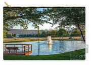 Umatilla Fountain Pond Carry-all Pouch by Robert Bales
