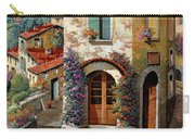 Un Cielo Verdolino Carry-all Pouch by Guido Borelli