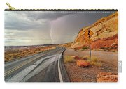 Uncertainty - Lightning Striking During A Storm In The Valley Of Fire State Park In Nevada. Carry-all Pouch