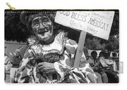 Uncle Harry Clown Drive Carefully  God Bless America Sign Tucson Arizona 1991 Carry-all Pouch