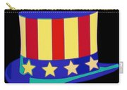 Uncle Sam Hat Pop Art Carry-all Pouch