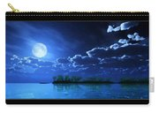 Under A Silvery Moon...artistic Effect Carry-all Pouch