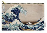 Under The Great Wave Off Kanagawa Carry-all Pouch