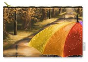 Under The Rain Carry-all Pouch