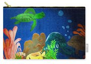 Under The Sea Mural 2 Carry-all Pouch