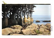 Under The Steinbeck Plaza Overlooking Monterey Bay On Monterey Cannery Row California 5d25050 Carry-all Pouch