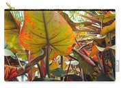 Under The Tropical Leaves Carry-all Pouch