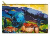 Under The Tuscan Sky Carry-all Pouch by Elise Palmigiani